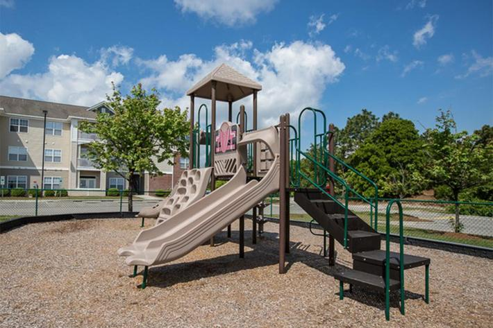 Playground at Willow Glen in Wilmington, North Carolina.