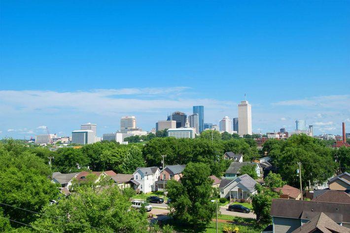 Skyline View of Nashville