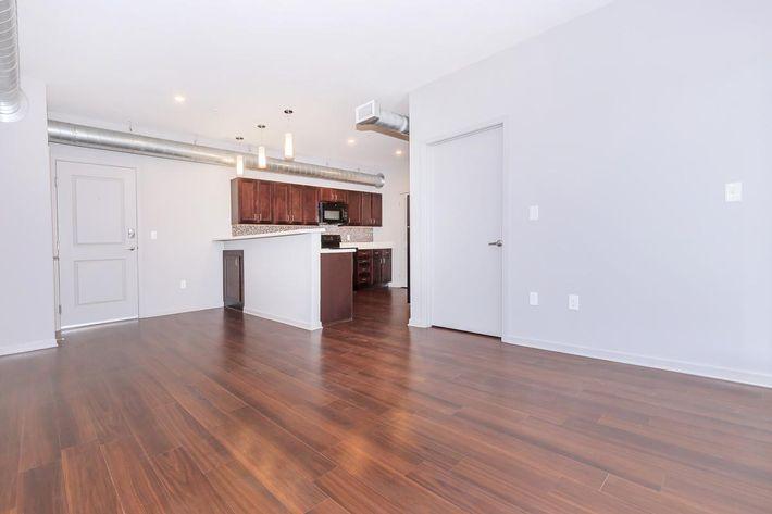 Spacious Two Bedroom Floor Plan