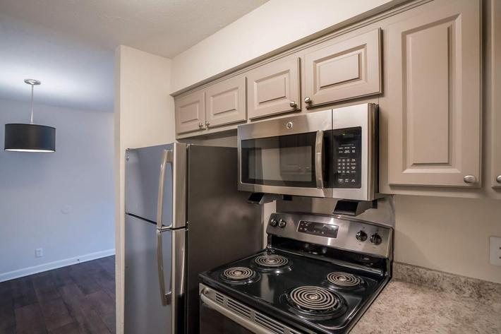Stainless Steel Appliances at Chase Cove Apartments in Nashville, TN