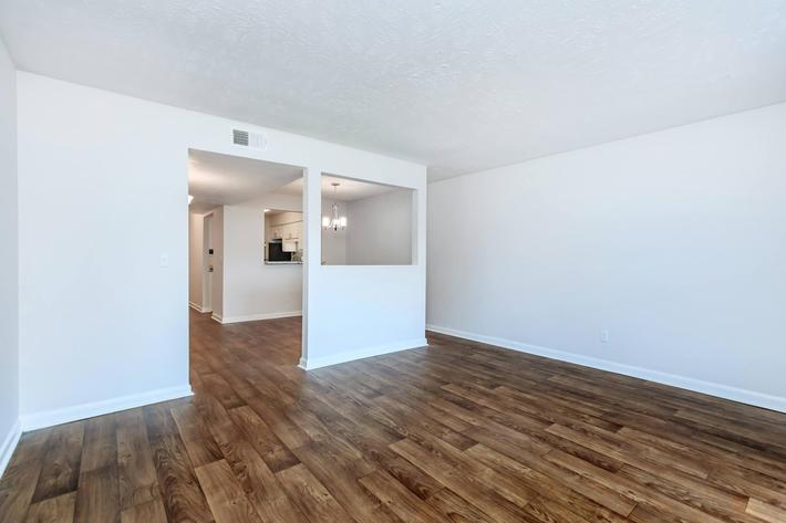 Hardwood Floors at Chase Cove Apartments in Nashville, TN