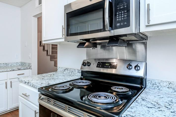 Stainless Steel Appliance at Chase Cove Apartments in Nashville, TN