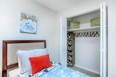 Spacious Bedroom and Closet at Chase Cove Apartments in Nashville, TN