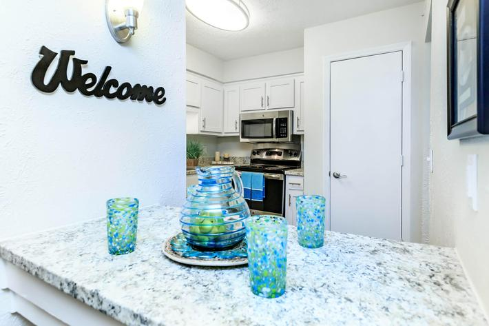 Your new Kitchen at Chase Cove Apartments in Nashville, TN