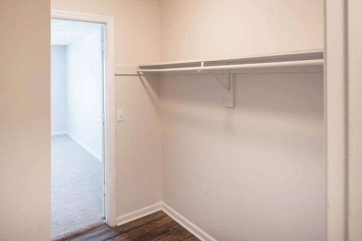 Spacious Closet at Chase Cove Apartments in Nashville, TN