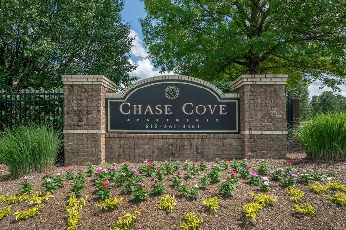 Chase Cove Apartments Monument Sign