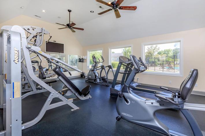 State-of-the-art Fitness Center at Chase Cove Apartments in Nashville, TN