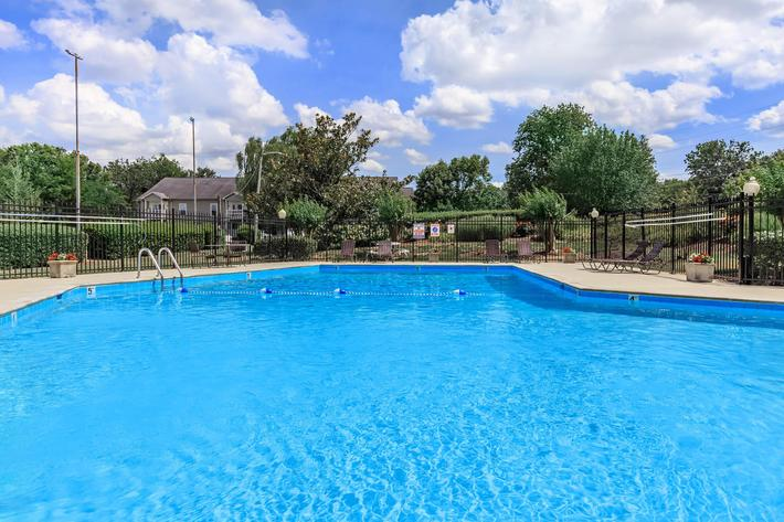 Take A Dip In our Shimmering Swimming Pool at Chase Cove Apartments