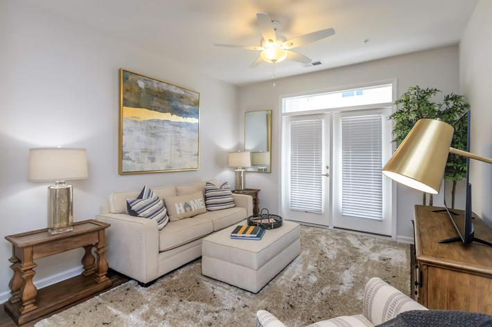 Enjoy Your View From Your Couch at Riverstone Apartments At Long Shoals in Arden, NC