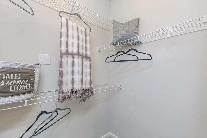Spacious Closets Here at Riverstone Apartments At Long Shoals in Arden, NC