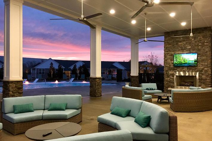 Beautifully Designed Spaces In Riverstone Apartments At Long Shoals In Arden, NC