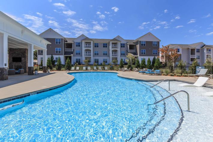 Catch Some Rays Here At Riverstone Apartments At Long Shoals In Arden, NC