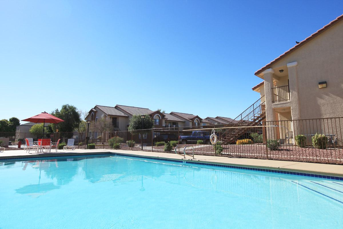 SWIMMING POOL AT TOSCANA APARTMENT HOMES IN LAS VEGAS