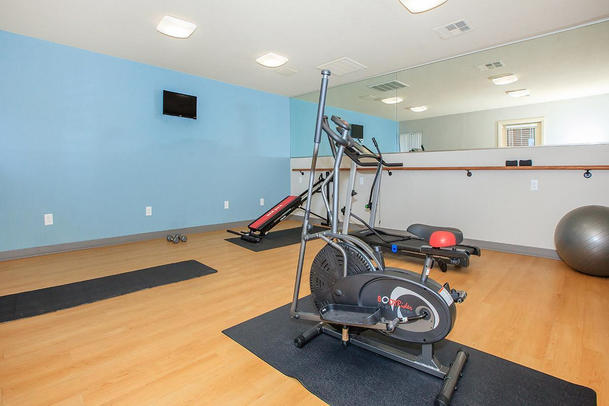 WORK IT OUT AT TOSCANA APARTMENT HOMES IN LAS VEGAS