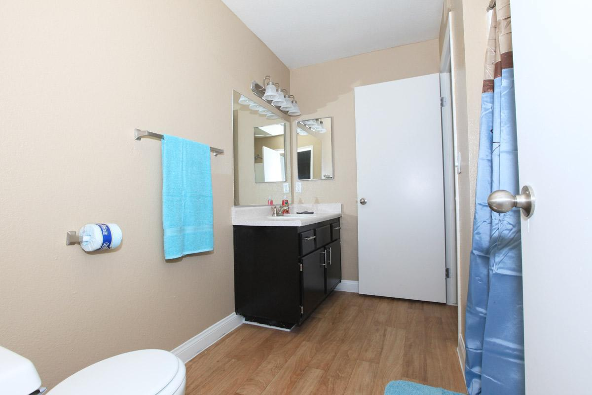 UPGRADED WASHROOM AT TOSCANA APARTMENT HOMES IN LAS VEGAS