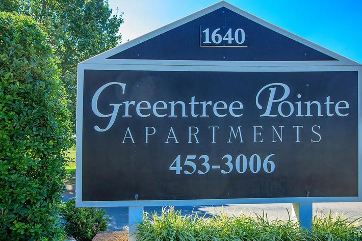 Greentree Pointe Monument Sign