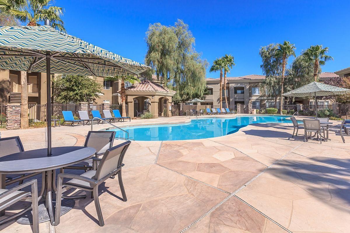 Relax beside the Pool in Las Vegas, NV
