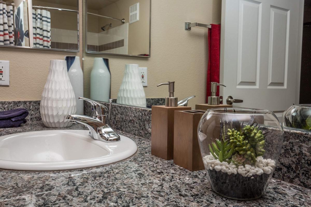 Beautiful Bathroom Counters