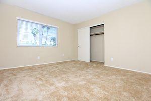 Plush carpeted bedrooms at Casa Hermosa