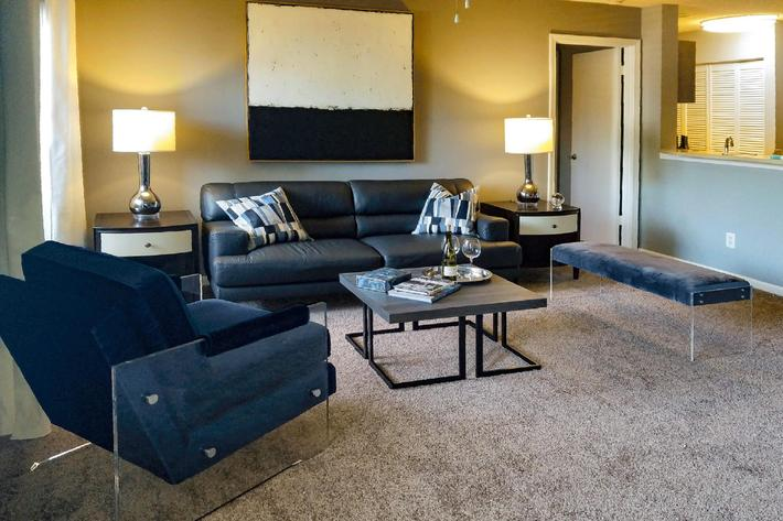 Spacious floor plans at Gleneagle in Greenville, South Carolina.