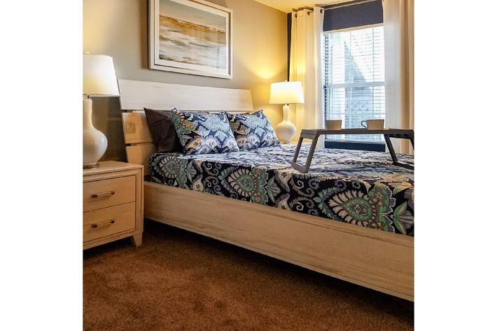 Cozy bedrooms Gleneagle in Greenville, South Carolina.