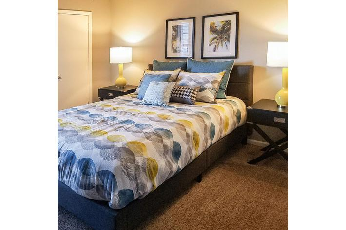 Relax in your new bedroom at Gleneagle in Greenville, SC.