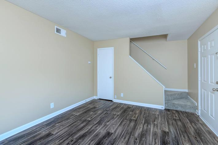 Stunning flooring at The Residences at 1671 Campbell in Clarksville, TN