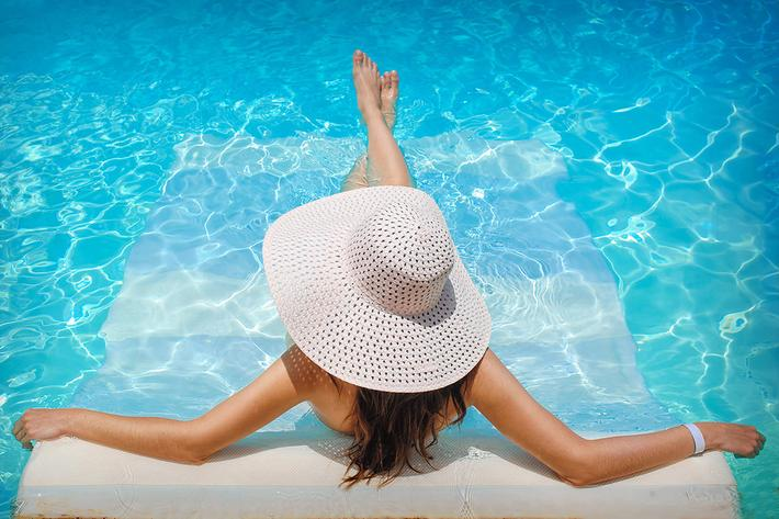 Relax by the Swimming Pool