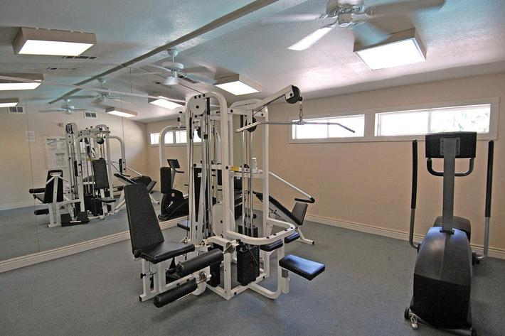 You will love the fitness center at Palm Lakes