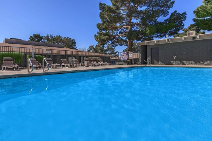 Pool at The Cottages