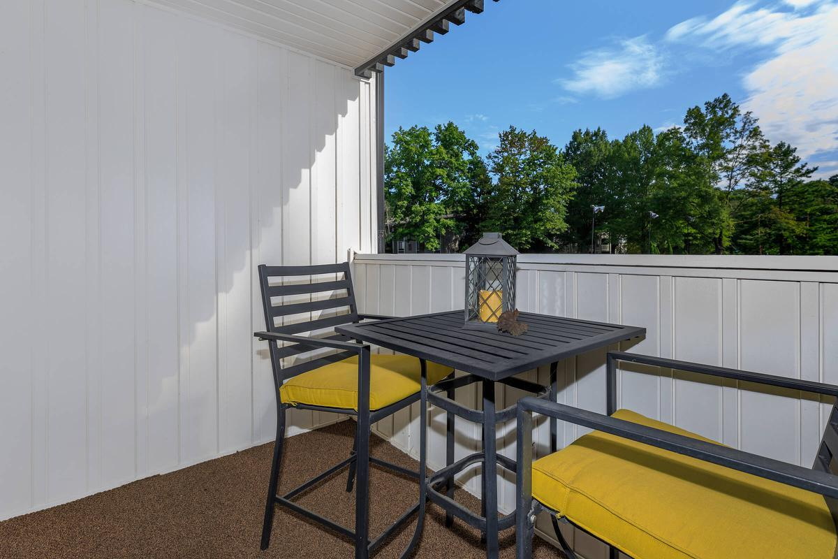 YOUR PERSONAL PATIO OR BALCONY