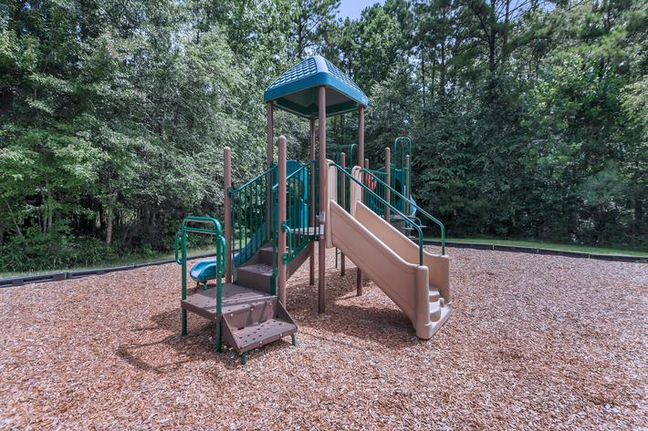 Discover The Play Area Here At Cooper's Ridge in Ladson, South Carolina