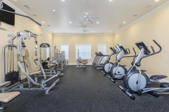 Enjoy Our Fitness Center Here At Cooper's Ridge in Ladson, South Carolina