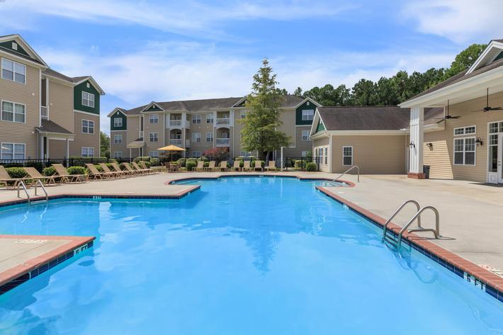 Enjoy The Swimming Pool Here At Cooper's Ridge in Ladson, South Carolina