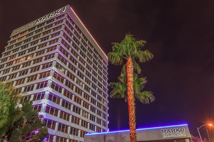 MARK 1 APARTMENTS IN LAS VEGAS IS AN ELEVATOR BUILDING