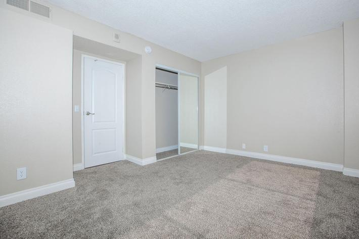 CARPETED FLOORS AND WALK-IN CLOSETS AVAILABLE AT MARK 1 APARTMENTS IN LAS VEGAS