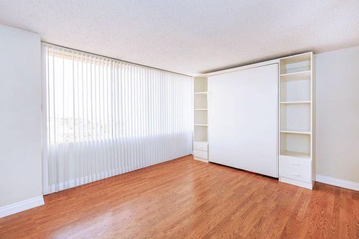 Spacious bedroom at Mark 1 Apartments
