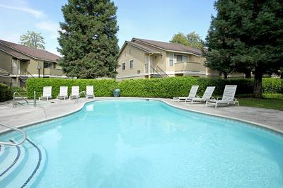 This is the swimming pool at Sierra Meadows