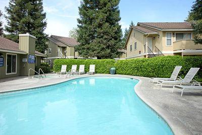 Take a dip in the pool at Sierra Meadows