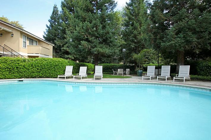 Soak up the sun by the pool at Sierra Meadows