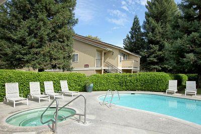 Enjoy the soothing spa at Sierra Meadows