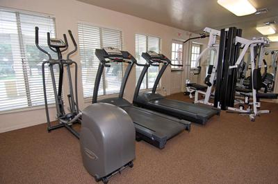 You will love the fitness center at Sierra Meadows