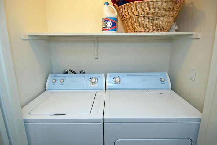Sierra Meadows has in home washer-dryers