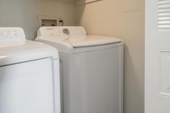 Brighton Valley Apartments Provides Washer and Dryer Connections
