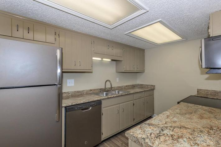 Brighton Valley Apartments provides an all-electric kitchen