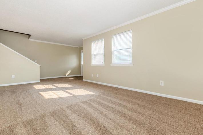 Three Bedroom Townhome Living Area