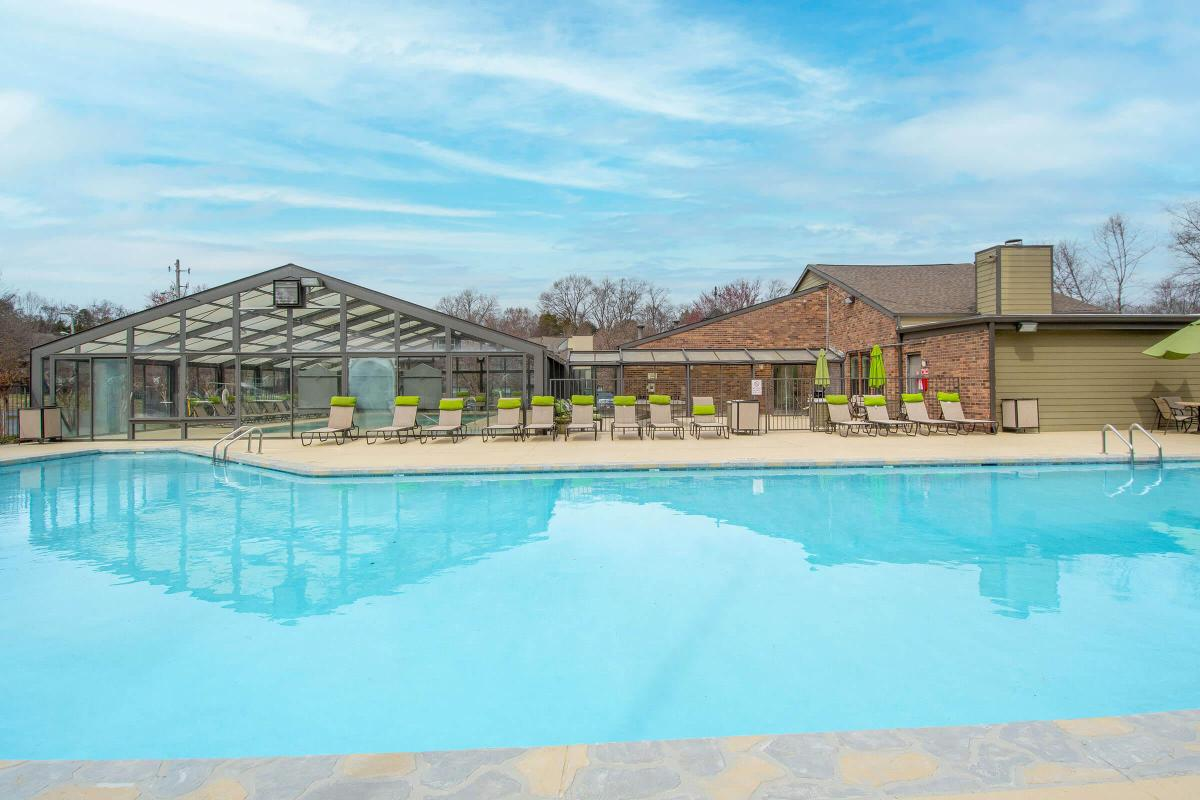 Outdoor pool at Brighton Valley Apartments