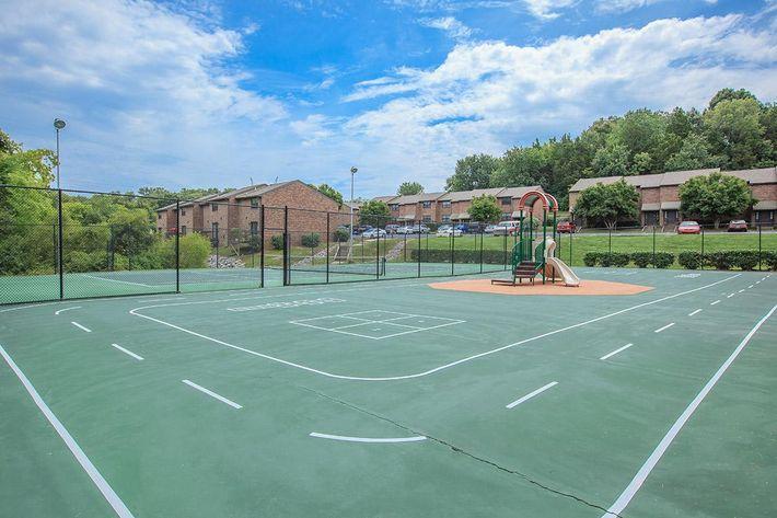 Sports Court and Playground