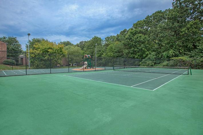 Tennis Court at Brighton Valley Apartments
