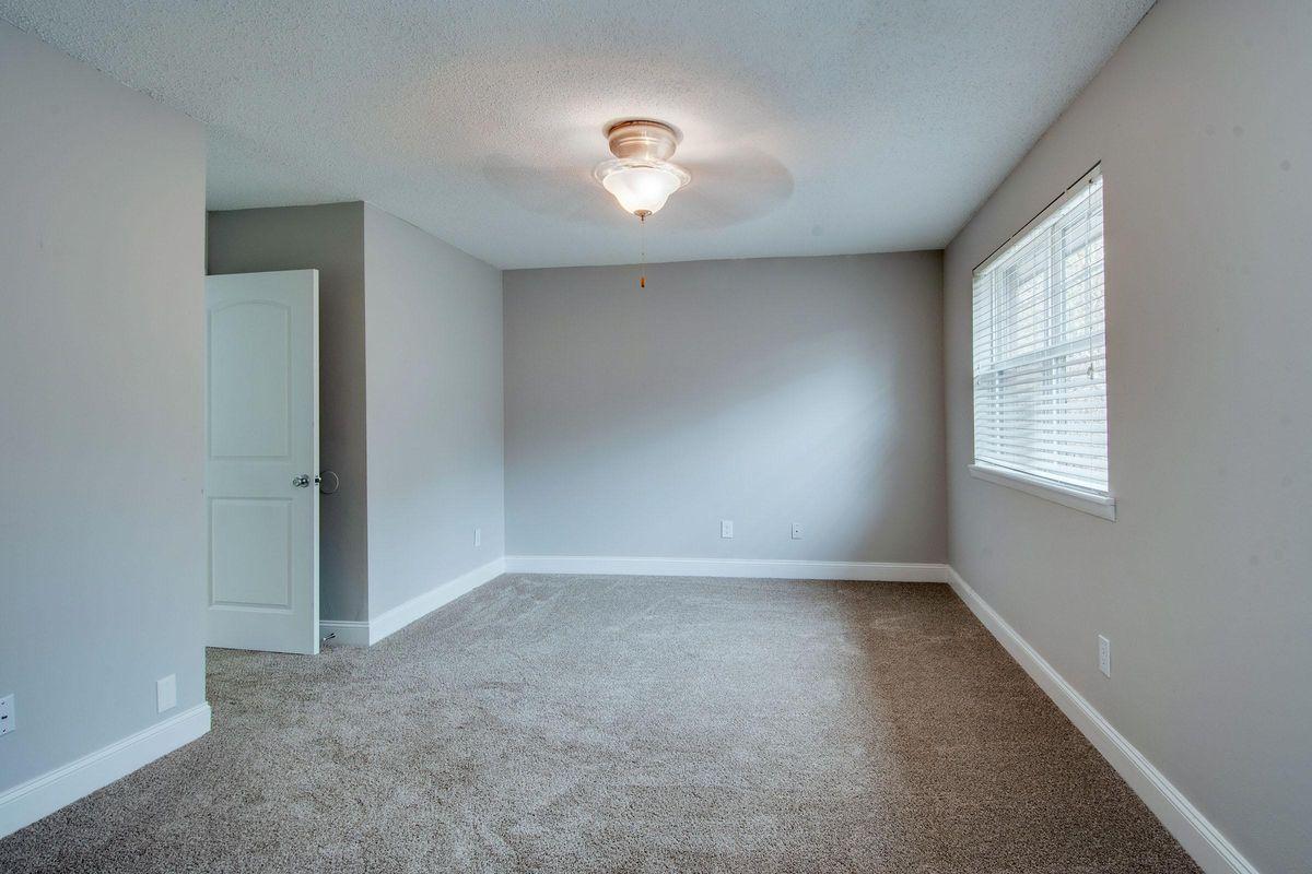 Natural lighting in bedroom